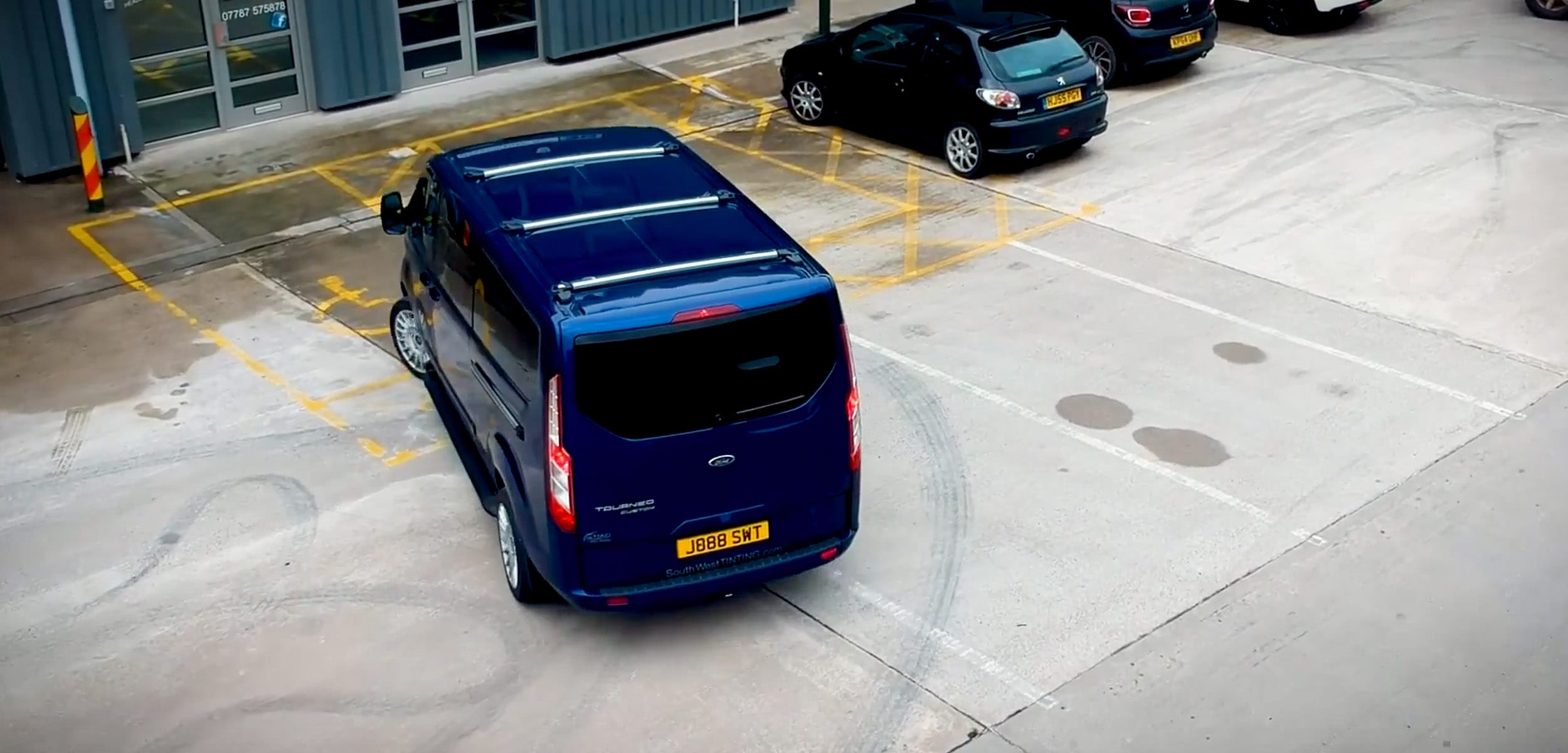 South West Tinting Van